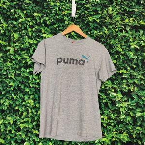 Puma Grey Graphic T-Shirt